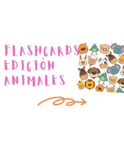 flashcards de animales