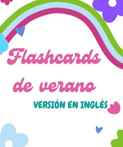 flashcards de verano en ingles